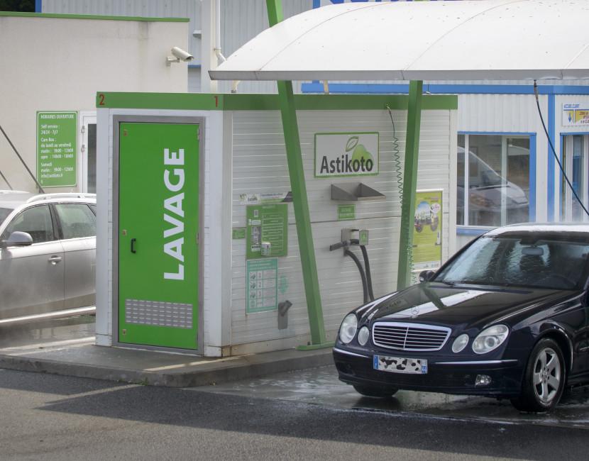 Station Astikoto Le Cellier destinée pour tous types de véhicules