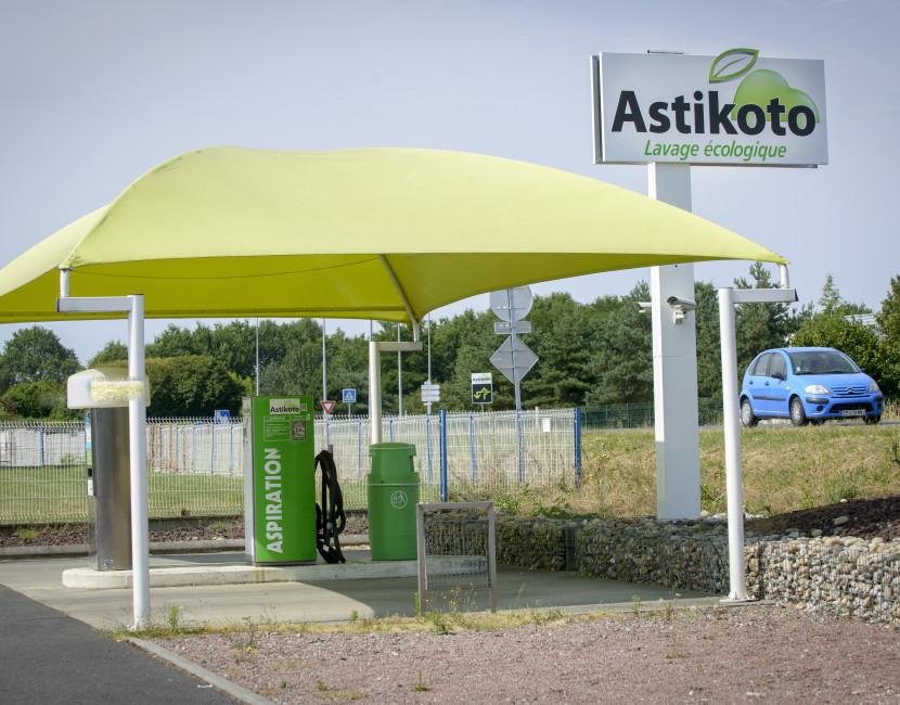 Station de lavage écologique Astikoto Le Cellier