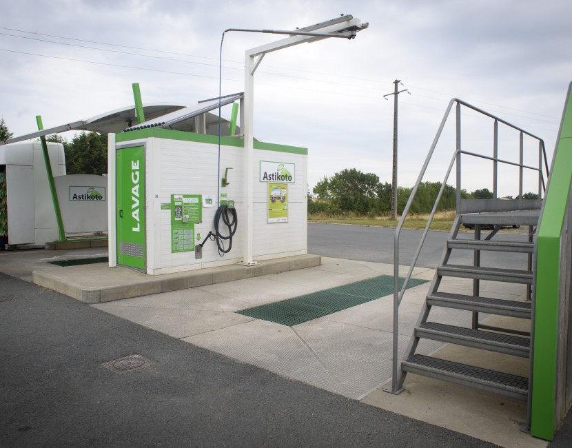 Station de lavage destinée à tous véhicules à Saint Laurent des Autels