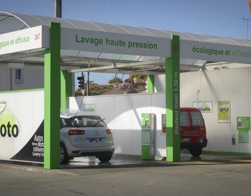 Station Astikoto Saint-Pierre-Montlimart destinée pour tous types de véhicules