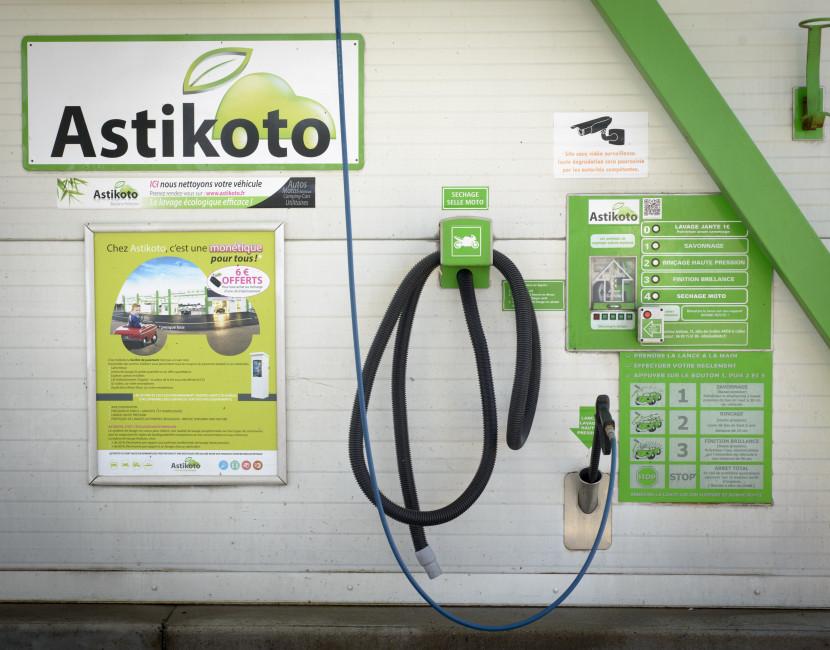 Le centre Astikoto Vallet dispose du self-service
