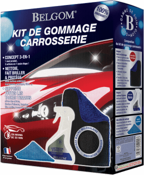 KIT  DE GOMMAGE ET LUSTRAGE EXPRESS