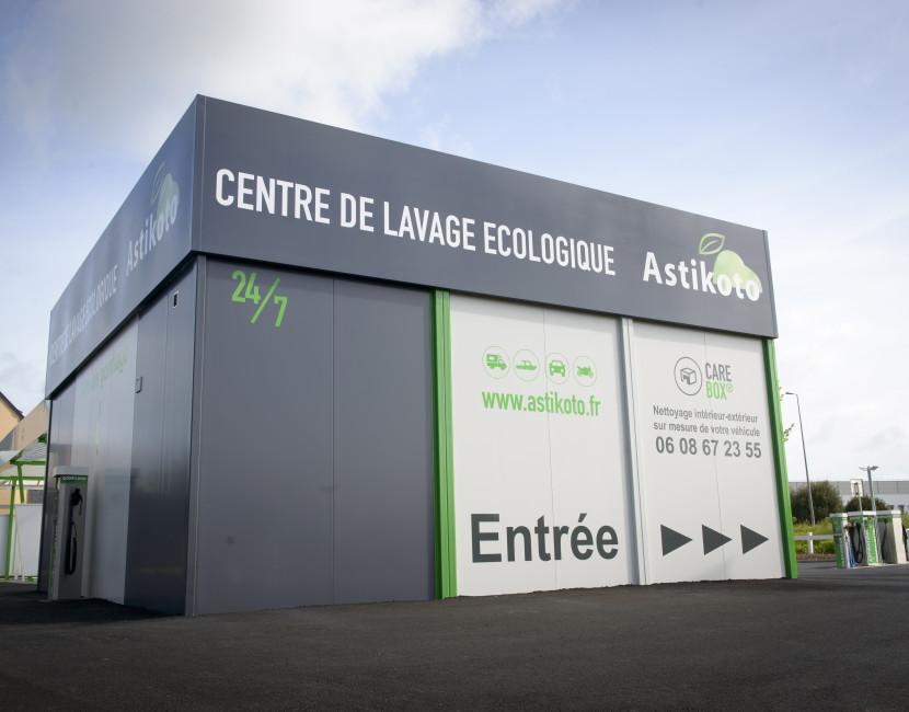 Centre de lavage écologique à Astikoto Ancenis