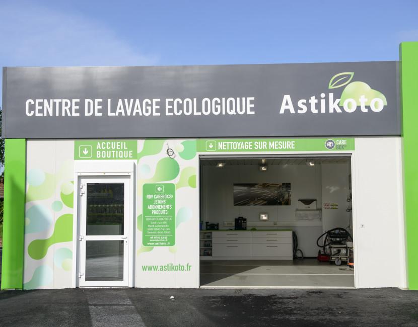 Care-Box à la station Astikoto d'Ancenis