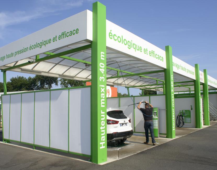 Station de lavage écologique Astikoto à Carquefou