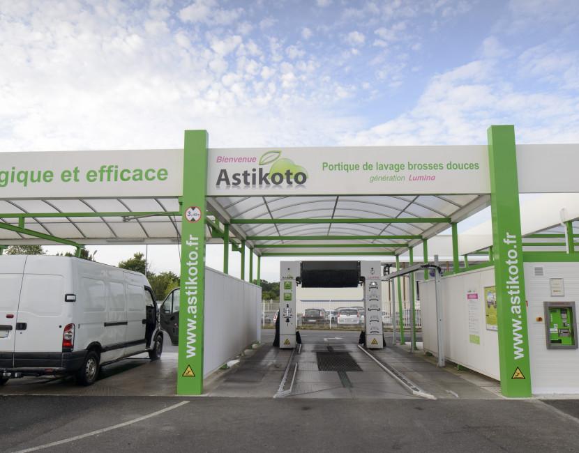Station de lavage écologique Astikoto Vertou