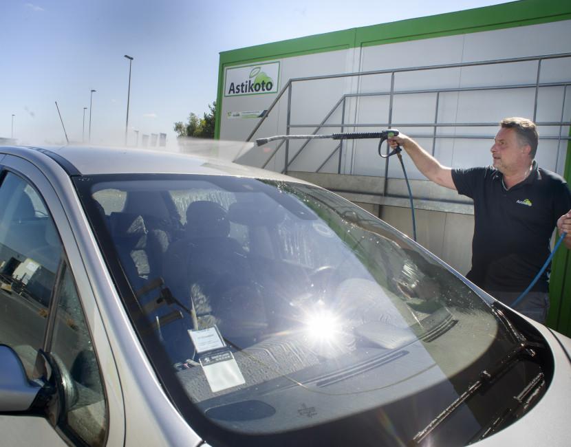 lavage du véhicule pour améliorer l'esthétique