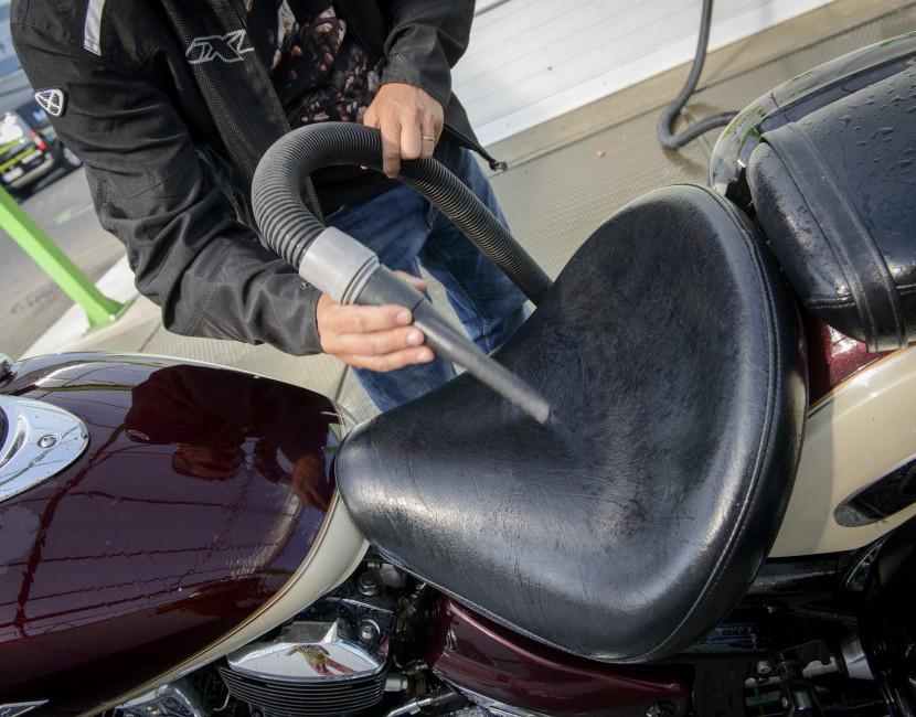 Séchoir à selle pour motos